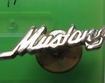 Vintage Ford Mustang metal Lapel Hat Vest Pin Tie Tack