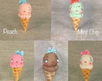 Ice Cream Cone Baby MADE TO ORDER
