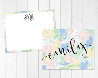 Mother's Day Stationary Gift Set Stationery Personalized Notecards Gift for Her Personalized Note Cards Custom NoteCard Thank You Cards