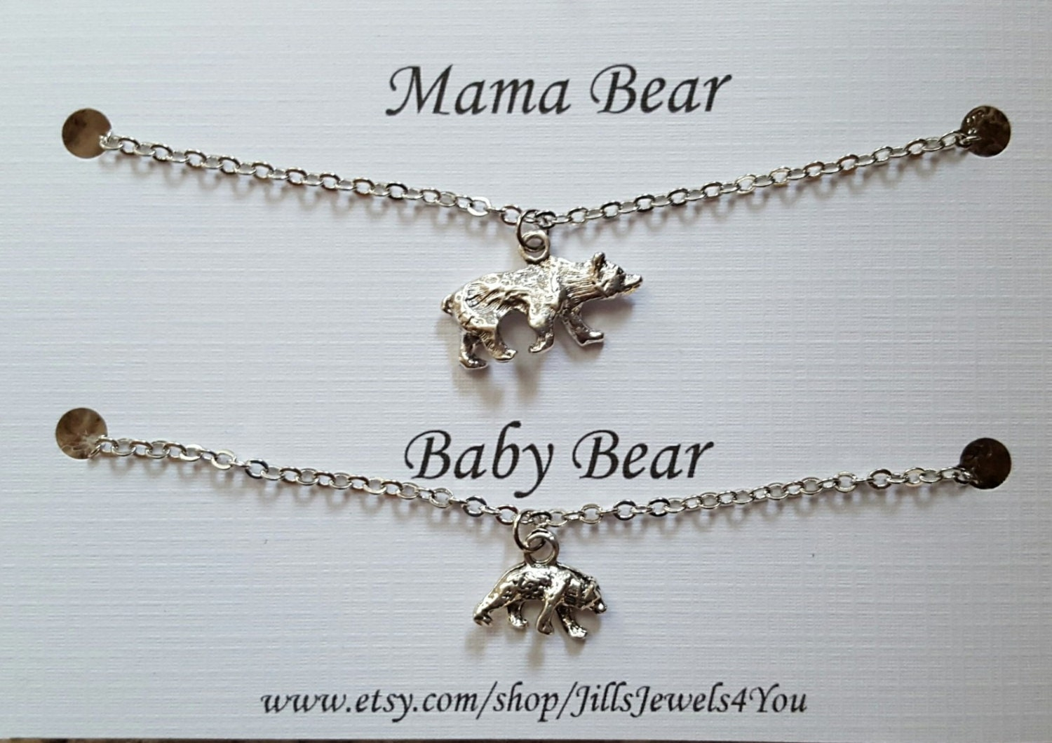 il gold or silver listing yellow bear sterling in zoom fullxfull necklace sgit mama rose
