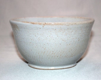 White and Orange Spotted Ceramic Bowl, Unique Drips Clay Serving Bowl, Pasta Salad Bowl, Modern Kitchen Home Decor