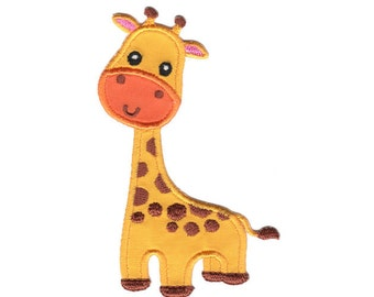 Giraffe Iron-On Patch Applique - Kids / Baby