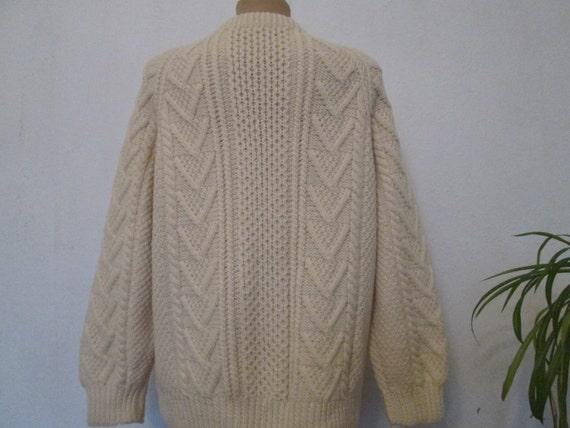 Woolen Sweater / Black Wool Jumper / Ladies Sweater / Mens Sweater / Unisex Sweater / Size EUR 44 / UK16 / Wool Black Jumper FZis5w