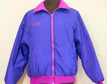 90s Reversible Columbia Jacket Size Small Medium