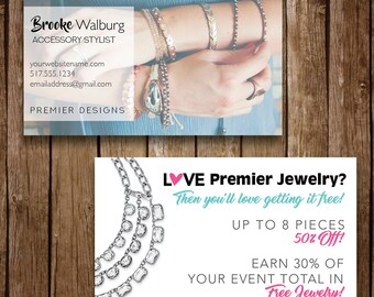 Premier designs card etsy photo business cards fast free personalization and change digital business cards premier designs colourmoves