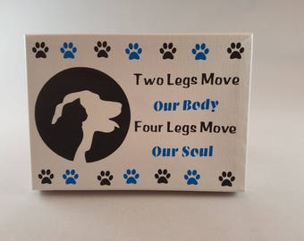 Two Legs Move Our Body