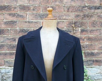 1940s WWII US Navy Issued Peacoat