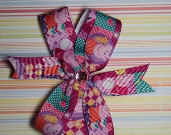 Peppa pig bow