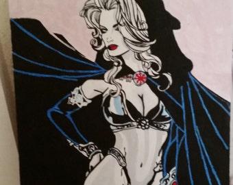 Lady death Figure 5