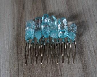 Handmade Crystal Hair Comb