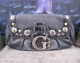 Vintage Guess Black Clutch