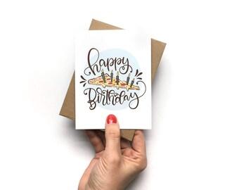 Pizza Birthday Card Etsy Jpg 340x270 Funny