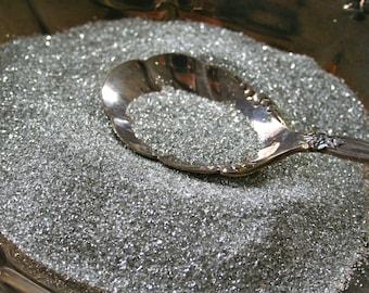Silver Platinum German Glass Glitter, 1 POUND