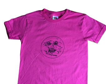 Kids Mighty Boosh Moon t shirt