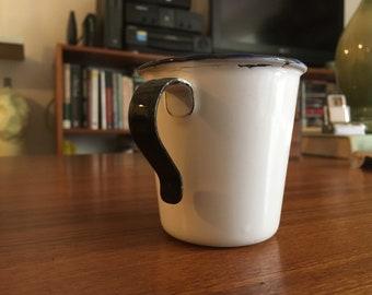 Swedish enamel cup