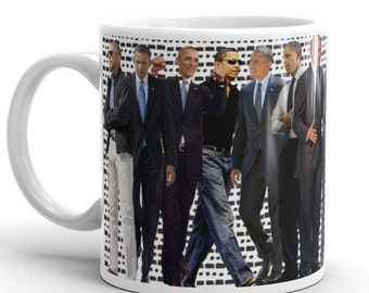 Barack Obama Mug // Obama // POTUS // FLOTUS // Michelle Obama // 44 // President Obama // Obama Out // Black History // US Presidents