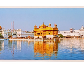 Golden Temple Amritsat Wall Poster Print Without Frame (30 X 60 Inches)