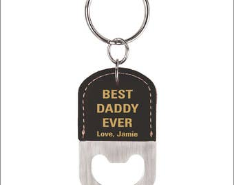 Best Daddy Ever Gift - Gifts for Daddy - Daddy Gift Ideas - Key chain - Keychain- Fathers Day Gifts, LCK004