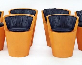Six Rare Prototype Tom Dixon Chairs