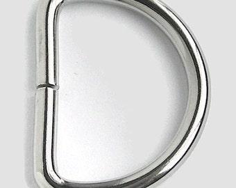 """25 D Rings - 1"""" (25mm)"""