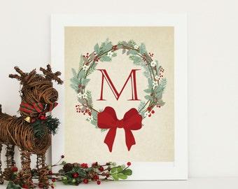 Christmas Decor  - Family Christmas Print - Personalized Christmas Print Digital Download  ANY SIZE