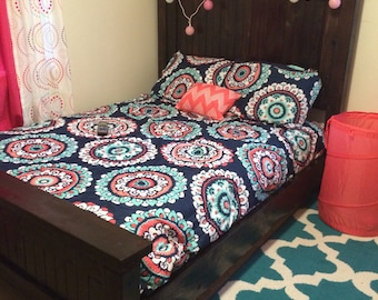 Custom Made Wooden Bed Twin size