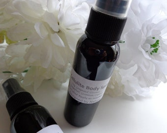 Cellulite Body Spray, Natural Toning Spray