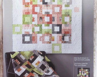 Blockstep Quilt Pattern - Moda - Robin Pickens -  Color and Quilt - RPQP-BS104