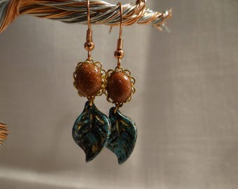 A Touch of nature Earrings