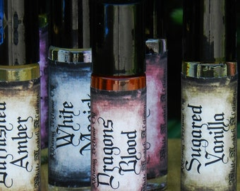Dragons Blood . White Magick Alchemy Perfume Oil