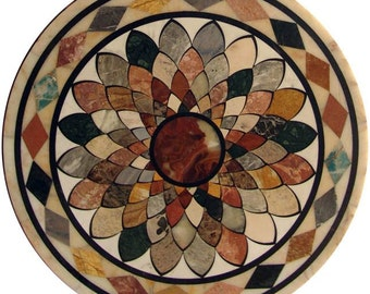 Stone Art Mosaic Medallion - Freya