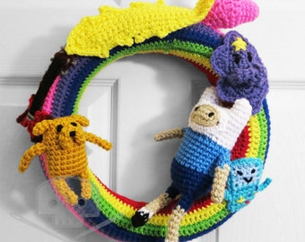 Adventure Time - Inspired Wreath