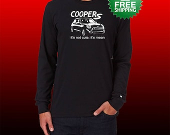 Mini Cooper S T shirt Holiday Christmas Birthday Present gift for him her college