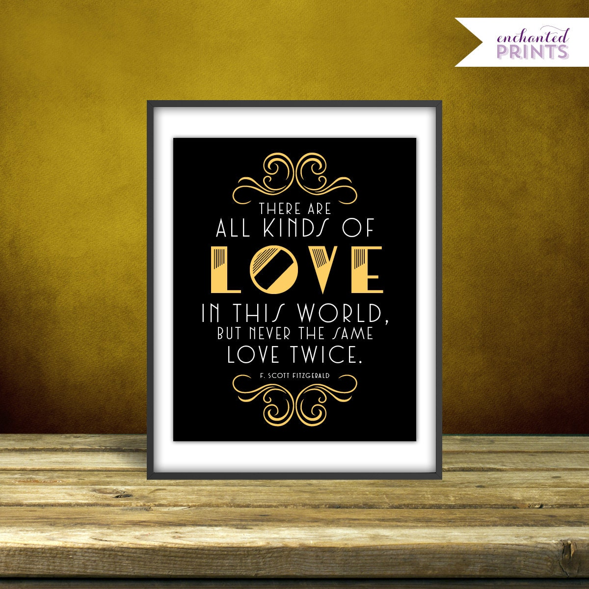 Quotes From The Great Gatsby Fscott Fitzgerald The Great Gatsby Quote Print Printable