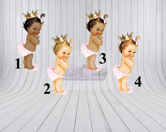 Princess Baby Toppers