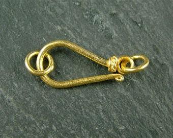 Gold Vermeil Hook Clasp 19mm