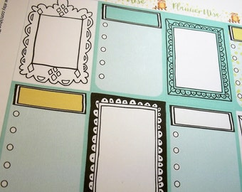 Unique Frames | Task Boxes | Set of 8 |