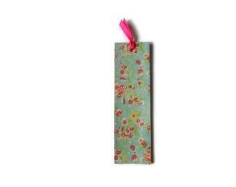Wooden bookmark - Wood bookmark - Floral bookmark - Flower bookmark - Book lover gift - Unique bookmark - Flower - Flora - Nature bookmark