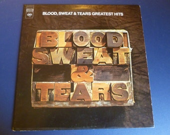 Blood, Sweat & Tears Greatest Hits Vinyl Record KC 31170 Columbia Records 1972