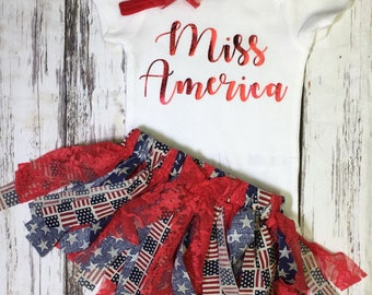 Fourth of July outfit-fourth baby-toddler outfit-newborn outfit- Fourth of July-red white and blue-memorial day-patriotic baby-america baby