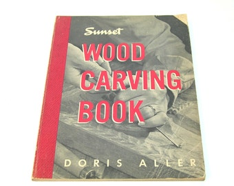 Wood Carving Book By Doris Aller