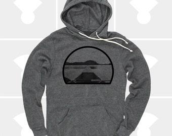 Hoodie, Canoe, Camping Shirt, Mens Hoodie, Womens Clothing, Hiking Shirt, Sweatshirt, Pullover Hoodie, Unisex Hoodie, Kayak, Fishing Shirt