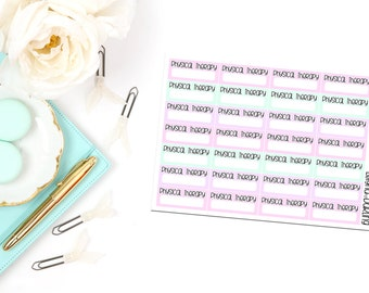 Physical Therapy Appointment Box Planner Stickers