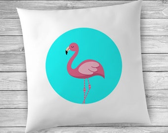 Gift for Flamingo Lover, Pink Flamingo, Pink Flamingo Decor, Flamingo Pillowcase, Pink Flamingo Pillowcase