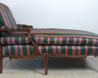 Luis XV Style French Provincial Chaise Lounge (Shipping not included)