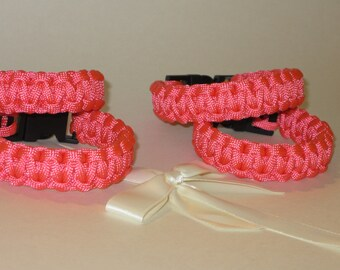 550 PARA-CORD Breast Cancer Braclets