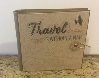 Travel without a Map Notebook w/ pencil