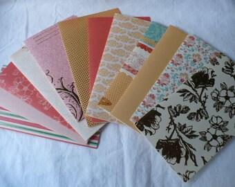 Color Budget Envelope System, 12 Month Color Envelope System, Cash Envelopes, Cash Budget System, Money Envelopes, Organizer, Wallet