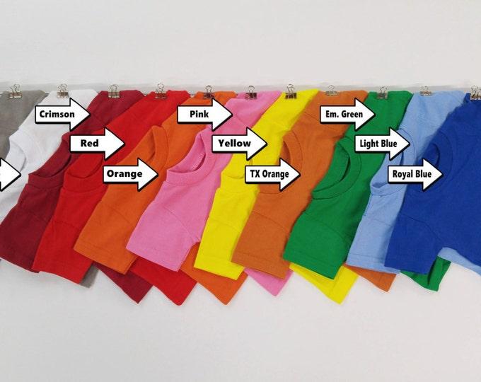 Mini T-shirts 100% cotton / qty. 1