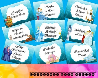 Cinderella Food Labels